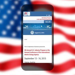Website Entwicklung für die Amerikanische Botschaft