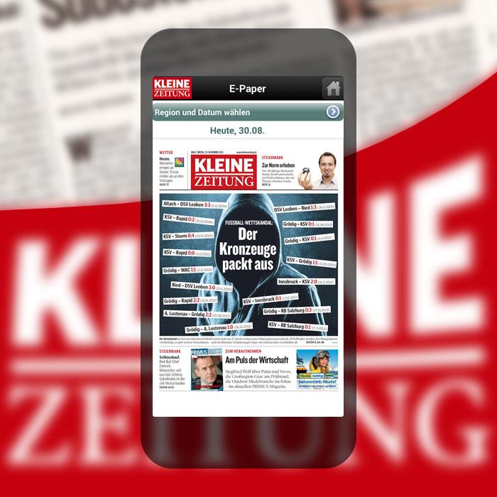 Projekt App Für Die Kleine Zeitung Advantage Apps