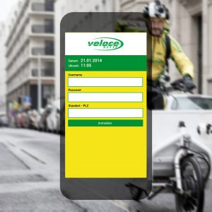 advantage:apps entwickelt App für veloce Kurierdienst