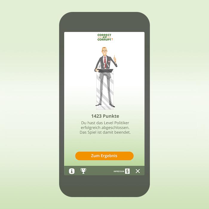 App für Correct or Corrupt